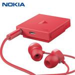 Nokia Stereo headset BH-121 / Bluetooth / NFC / červená (02740Q2)