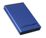 LC Power LC-25U3 XL box pro 2.5 HDD SATA / USB 3.0 / Fialový (LC-25U3-XL)
