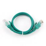 Gembird UTP CAT5E 0.5m / patch kabel / s ochranou / zelená (PP12-0.5M/G)