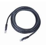 Gembird UTP CAT5E 1m / patch kabel / s ochranou / černá (PP12-1M/BK)