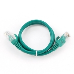 Gembird UTP CAT5E 1m / patch kabel / s ochranou / zelená (PP12-1M/G)