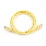 Gembird UTP CAT5E 1m / patch kabel / s ochranou / žlutá (PP12-1M/Y)