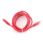 Gembird UTP CAT5E 2m / patch kabel / s ochranou / červená (PP12-2M/R)