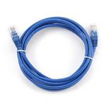 Gembird UTP CAT5E 3m / patch kabel / s ochranou / modrá (PP12-3M/B)