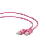 Gembird FTP CAT6 3m / patch kabel / stíněný s ochranou / růžová (PP6-3M/RO)