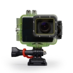 TSS Group Full HD sportovní kamera s vodotěsným pouzdrem do 60m s univerzálními držáky (SPORTCAM 01)