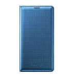 Samsung flipové pouzdro s kapsou pro Samsung Galaxy S5 (SM-G900) / Modrá / výprodej (EF-WG900BEEGWW)