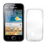 CELLY Gelskin TPU zadní kryt pro Samsung Galaxy Ace Duos / bezbarvé / výprodej (GELSKIN301)