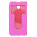 ForCell S-View pouzdro pro Nokia Lumia 630 / růžová (20246)