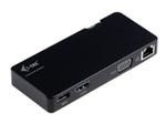 i-tec USB 3.0 Travel Docking Station Advance HDMI VGA - U3TRAVELDOCK