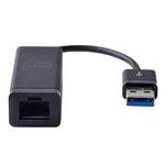 DELL adaptér USB 3.0 na Ethernet / černá (470-ABBT)