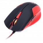 CONNECT IT drátová herní myš Battle V2 / optická / červená (CI-456)
