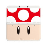 New 3DS Cover Plate 7 / kryt pro nové Nintendo 3DS / Toad Red (NI3P110070)