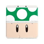 New 3DS Cover Plate 7 / kryt pro nové Nintendo 3DS / Toad Green (NI3P110080)