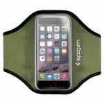 Spigen Sport Armband / sportovní pouzdro na ruku pro iPhone 6 / zeleno-černá (SGP11198)