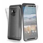 SBS Aero zadní kryt TPU pro HTC One (M9) / + ochranná folie / transparentní (TEAEROHTM9T)