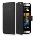SBS pouzdro typu kniha pro HTC One Mini 2 / kůže / magnetické zavírání / černá (TEBOOKHTO2MK)