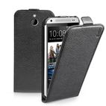 SBS Flipové pouzdro pro HTC One Mini 2 / magnetické zavírání / kůže / černá (TEFLIPHTO2MK)