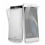 SBS Aero zadní kryt TPU pro Huawei P8 Lite / + ochranná folie / transparentní (TEAEROHUP8LT)