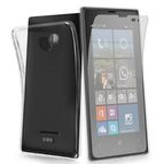SBS Aero zadní kryt TPU pro Nokia Lumia 532 / + ochranná folie / transparentní (TEAERONOL532T)