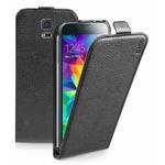 SBS Flipové pouzdro pro Samsung Galaxy S5 Mini / magnetické zavírání / černá (TEFLIPSAS5MINK)