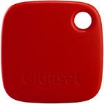 Gigaset G-Tag - lokalizační čip / přívěšek / na klíče / výdrž až 1 rok / BT 4.0 / až 40m / pro chytré telefony / červená (S30852-H2655-R103)