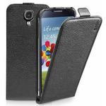 SBS Flipové pouzdro pro Samsung Galaxy S4 (I9505) / magnetické zavírání / černá (TEFLIPPUS4K)