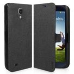 SBS pouzdro typu kniha pro Samsung Galaxy S4 (I9505) / magnetické zavírání / černý (TEBOOKSAS4K)
