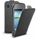 SBS Flipové pouzdro pro Samsung Galaxy Pocket Neo S5310 / magnetické zavírání / černá (TEFLIPSAPOCNEO2K)