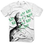ME Tricko Batman: Arkham City Tricko - Joker (M) / bílé (15049)