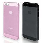 SBS Glam Crystal Glitter zadní kryt pro Apple iPhone 5 a 5S / 2 kryty v balení / černý a růžový (TECRYSTIP5KP)