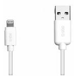 SBS datový kabel pro Apple Lightning / iPhone / iPad / iPod / 1.2m / bílý (TECABLEUSBIP5)