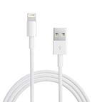 Apple Lightning na USB kabel (pro iPhone 5, 5S, 6, iPad 4, iPad mini) - náhrada 4World / bulk (MD818ZM/A-náhrada)