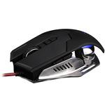CANYON CND-SGM6 / herní myš / optická / 400/800/1600/3200 dpi / USB / černá (CND-SGM6)