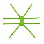 BREFFO Spiderpodium držák až na 10 mobilní zařízení / zelený (BREFFO SpiderpodiumTab Green)
