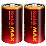 KODAK MAX alkalická baterie D / 2ks / blister (30952843)