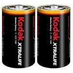 KODAK XTRALIFE alkalická baterie D / 2ks / blister (30952058)