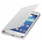 SAMSUNG flipové pouzdro s kapsou pro SAMSUNG Galaxy Core LTE / bílá (EF-WG386BWEGWW)
