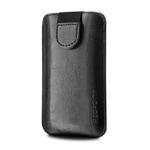 RedPoint Soft Slim pouzdro se zavíráním velikost XL / PU kůže / černý (RPSOS-001-XL) - Pouzdro FIXED Soft Slim XL černé
