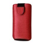 RedPoint Soft Slim pouzdro se zavíráním velikost XL / PU kůže / červený (RPSOS-011-XL)