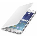 Samsung flipové pouzdro s kapsou pro Samsung Galaxy J5 (SM-J500) / bílá (EF-WJ500BWEGWW)
