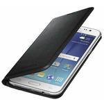 Samsung flipové pouzdro s kapsou pro Samsung Galaxy J5 (SM-J500) / černý (EF-WJ500BBEGWW)