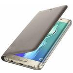 Samsung flipové pouzdro s kapsou pro Samsung Galaxy S6 edge+ (SM-G928F) / zlatý (EF-WG928PFEGWW)