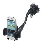 CELLY Univerzální držák s přísavkou pro mobilní telefony a smartphony / flexibilní rameno (FLEX13)