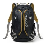 "Batoh Dicota D31048 15,6"" black/yellow"