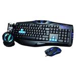 E-Blue Cobra Set / Klávesnice+myš+sluchátka / herní drátový set / USB / US / modrá (YCEBUS80CU)
