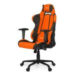 AROZZI TORRETTA herní židle / 120-128cm / kovová konstrukce / černo-oranžový (TORRETTA-OR)