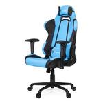 AROZZI TORRETTA herní židle / 120-128cm / kovová konstrukce / černo-modrý (TORRETTA-AZ)