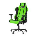 AROZZI TORRETTA XL herní židle / 120-128cm / kovová konstrukce / černo-zelený (TORRETTA-XLF-GN)