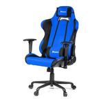 AROZZI TORRETTA XL herní židle / 120-128cm / kovová konstrukce / černo-modrý (TORRETTA-XLF-BL)